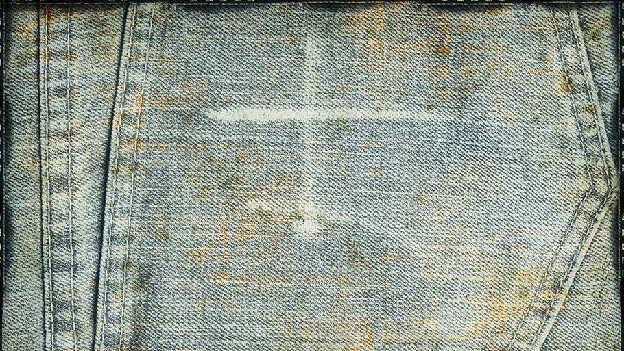 Как вывести пятна ржавчины с джинсовой ткани фото